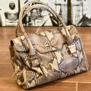Gorgeous Cole Haan snakeskin bag